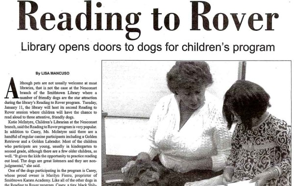 Reading to Rover